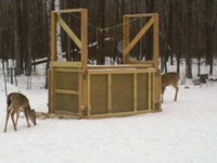 Wisconsin deer trap