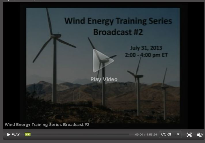 previous wind broadcast