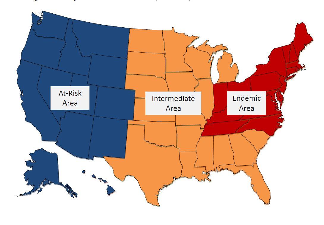WNS regions 2014