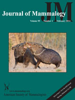 journal of mammalogy 2-14